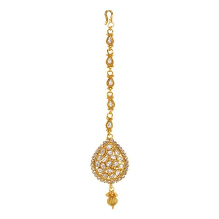 12864 Antique Classic Tikka with gold plating