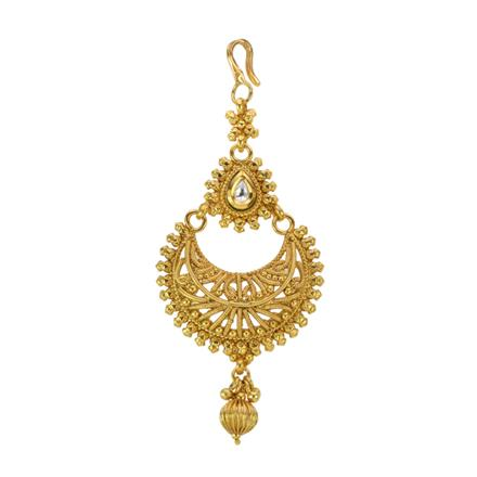 12867 Antique Chand Tikka with gold plating