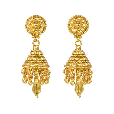 12960 Antique Delicate Earring with gold plating