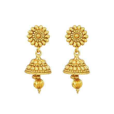 12961 Antique Delicate Earring with gold plating