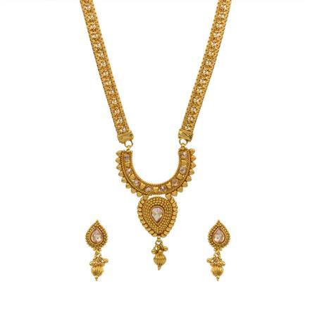 12992 Antique Plain Gold Mangalsutra