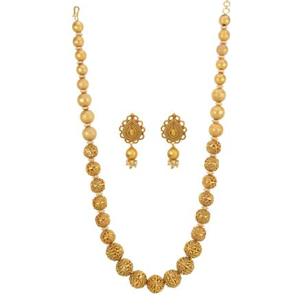 13000 Antique Mala Necklace with gold plating