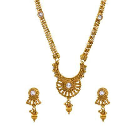 13012 Antique Plain Gold Mangalsutra