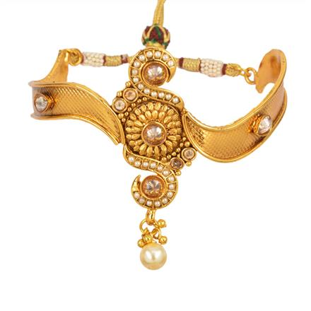 13025 Antique Classic Baju Band with gold plating
