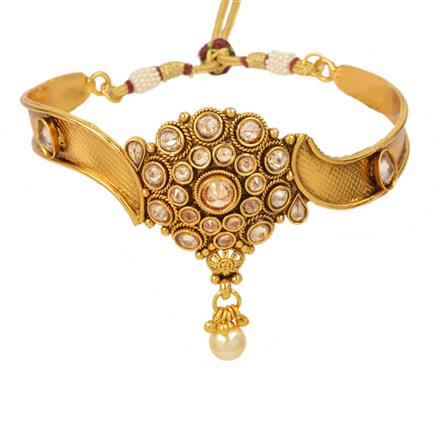 13027 Antique Classic Baju Band with gold plating
