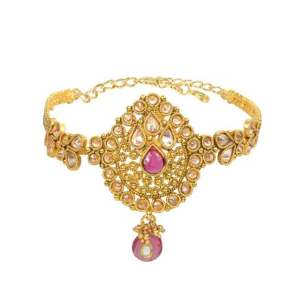 13203 Antique Classic Baju Band with gold plating