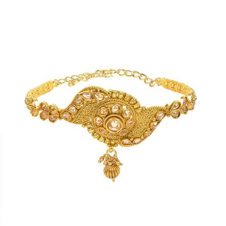 13204 Antique Classic Baju Band with gold plating