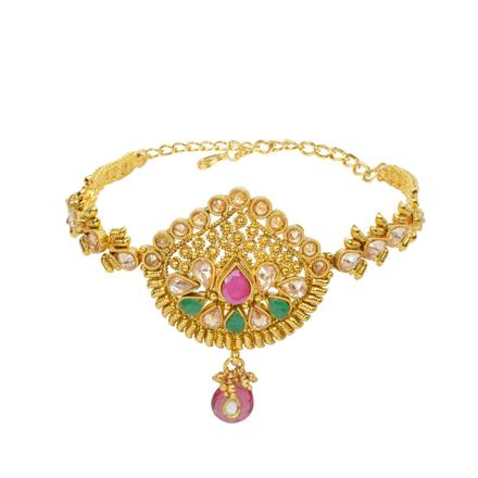 13205 Antique Classic Baju Band with gold plating