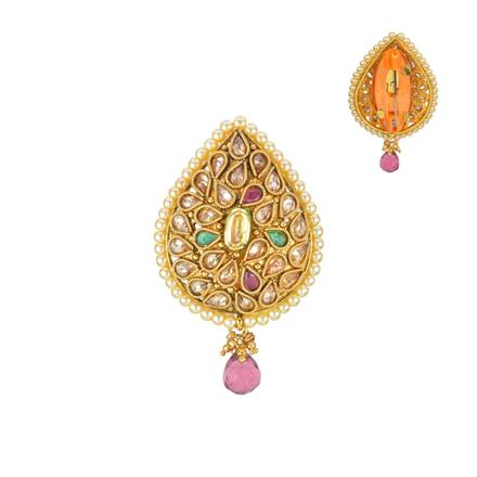 13212 Antique Classic Brooch with gold plating