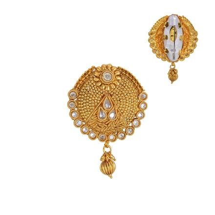 13213 Antique Classic Brooch with gold plating