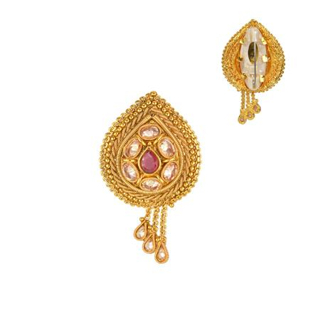 13214 Antique Classic Brooch with gold plating