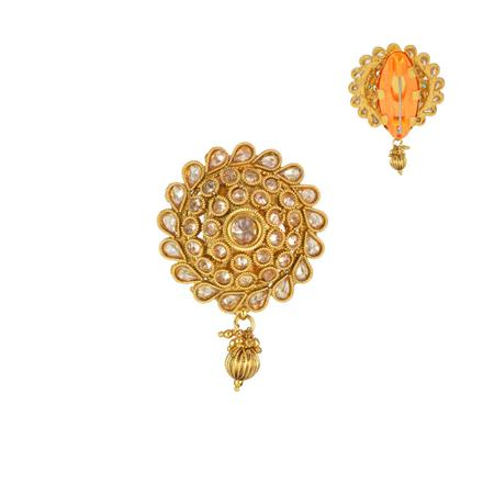 13215 Antique Classic Brooch with gold plating