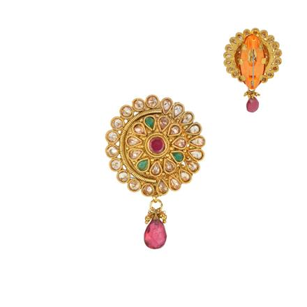 13216 Antique Classic Brooch with gold plating