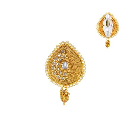13217 Antique Classic Brooch with gold plating