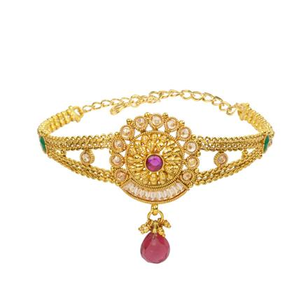 13220 Antique Classic Baju Band with gold plating