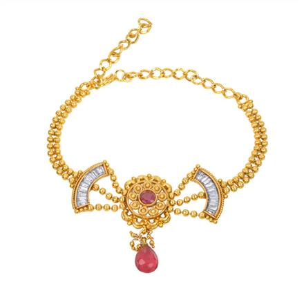 13222 Antique Classic Baju Band with gold plating