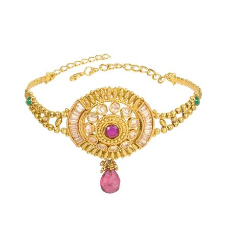 13223 Antique Classic Baju Band with gold plating
