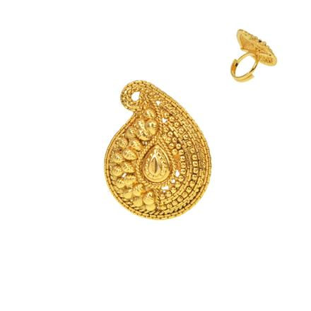 13270 Antique Plain Gold Ring