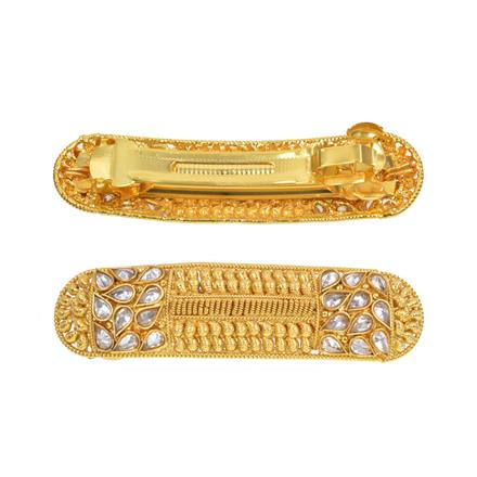 13289 Antique Classic Hair Clip with gold plating