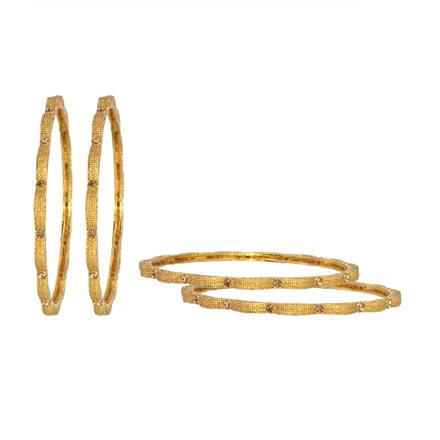 13337 Antique Classic Bangles with gold plating