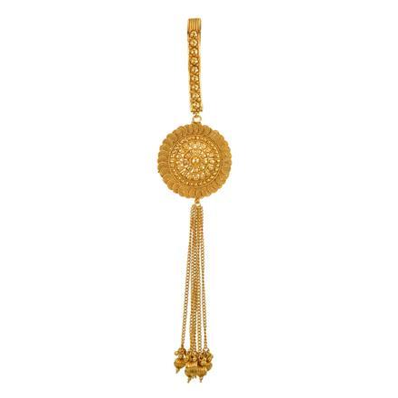 13397 Antique Plain Gold Jhuda
