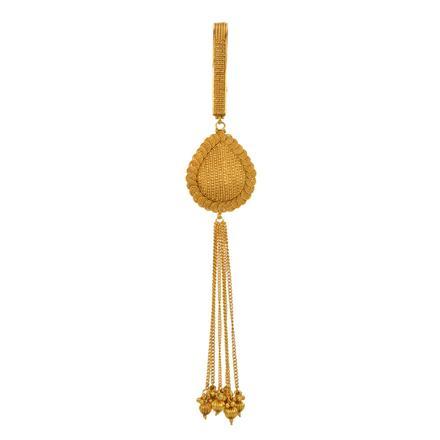 13399 Antique Plain Gold Jhuda