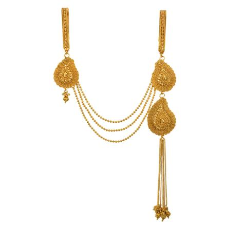 13401 Antique Double Jhuda with gold plating