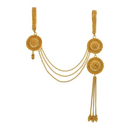 13402 Antique Double Jhuda with gold plating