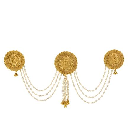 13409 Antique Classic Hair Brooch with gold plating