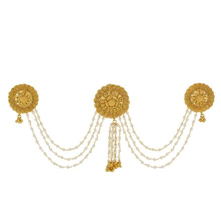 13410 Antique Classic Hair Brooch with gold plating