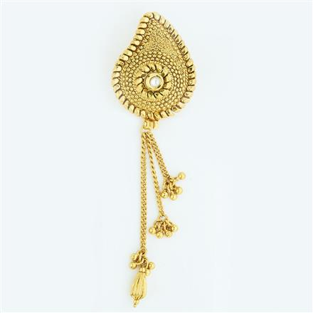 13426 Antique Classic Hair Brooch with gold plating