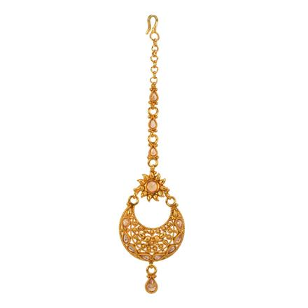 13476 Antique Classic Tikka with gold plating