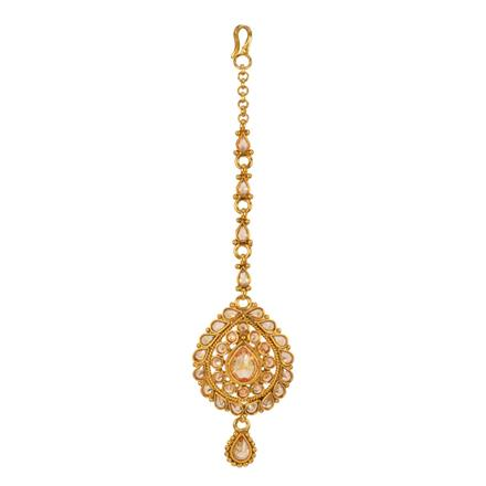 13477 Antique Classic Tikka with gold plating