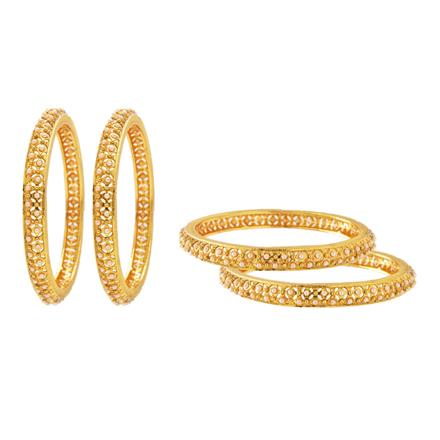 13479 Antique Classic Bangles with gold plating