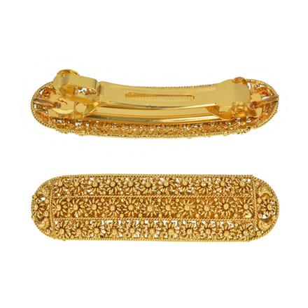 13525 Antique Classic Hair Clip with gold plating