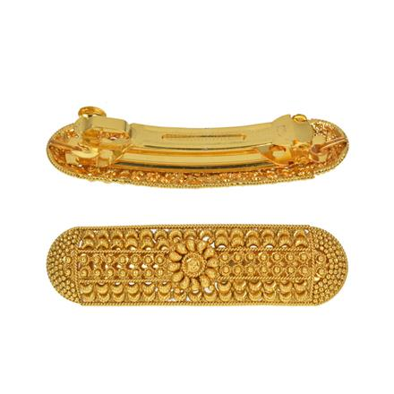 13526 Antique Classic Hair Clip with gold plating