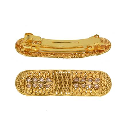 13529 Antique Classic Hair Clip with gold plating