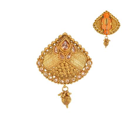 13548 Antique Classic Brooch with gold plating