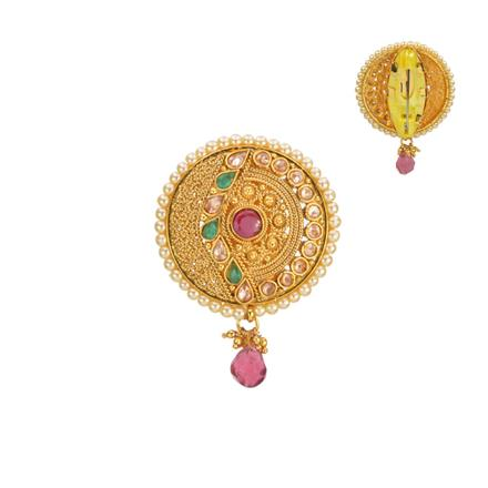 13550 Antique Classic Brooch with gold plating