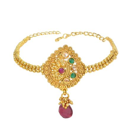13552 Antique Classic Baju Band with gold plating