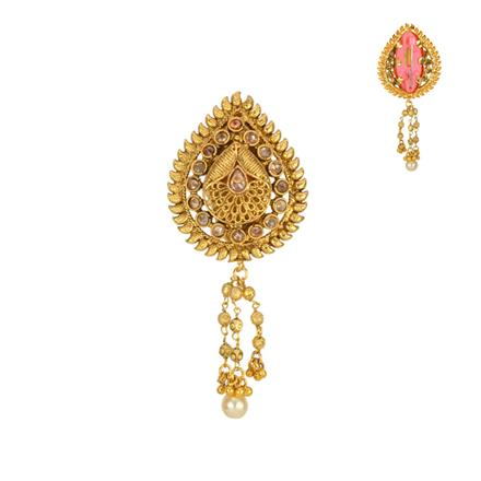 13609 Antique Classic Brooch with gold plating