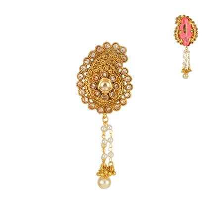 13613 Antique Classic Brooch with gold plating