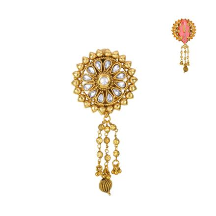 13614 Antique Classic Brooch with gold plating