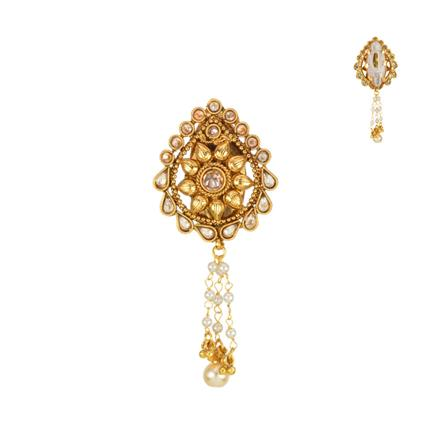 13617 Antique Classic Brooch with gold plating