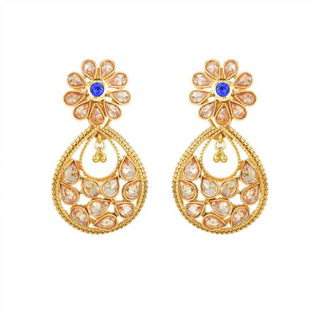 13660 Antique Classic Earring with gold plating