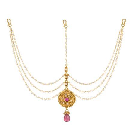 13720 Antique Classic Damini with gold plating