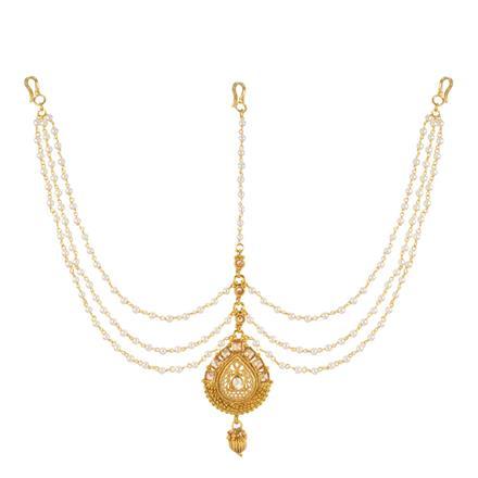 13723 Antique Classic Damini with gold plating