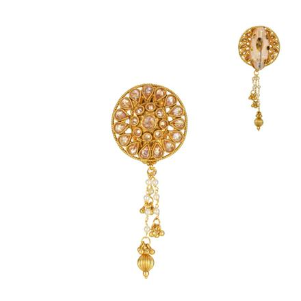 13845 Antique Classic Brooch with gold plating