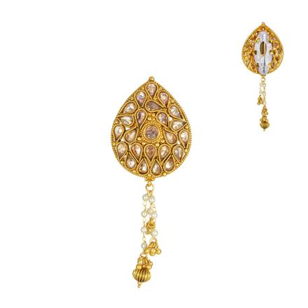 13846 Antique Classic Brooch with gold plating