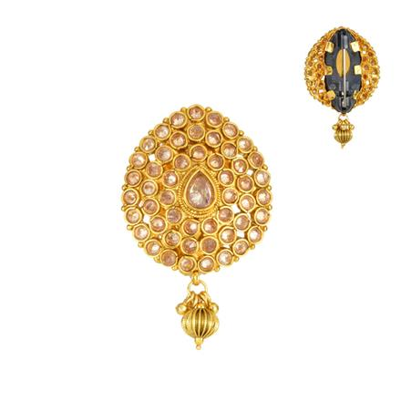 13848 Antique Classic Brooch with gold plating